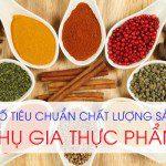 Công bố chất lượng phụ gia thực phẩm nhập khẩu