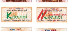 In tem chống hàng giả tại Tp Hcm