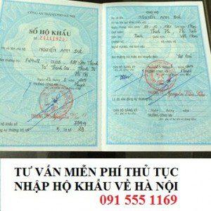 Dịch vụ tách nhập hộ khẩu Hà Nội