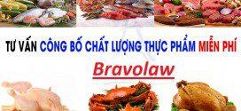 công bố chất lượng thực phẩm tại bravo