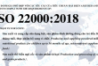 CHUNG NHAN ISO 22000