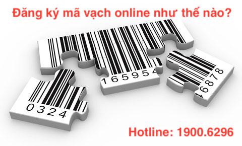 Đăng ký mã vạch online như thế nào?