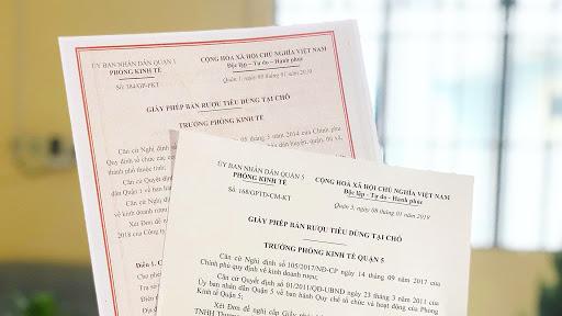 Thủ tục đề nghị cấp Giấy phép bán lẻ rượu theo quy định hiện nay