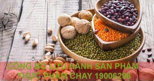 Dịch vụ công bố sản phẩm thực phẩm đồ ăn chay