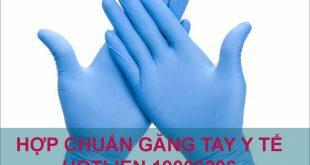 Dịch vụ hợp chuẩn găng tay cao su y tế, kháng khuẩn TCVN 6344:2007 ( ISO 10282:2002)