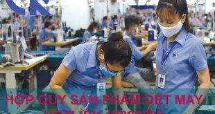 Dịch vụ chứng nhận hợp quy sản phẩm dệt may, khăn bông, bảo hộ
