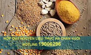 Hợp quy nguyên liệu thức ăn chăn nuôi QCVN 01-78-2011 BNNPTNT
