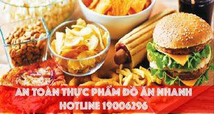 Chứng nhận an toàn thực phẩm cho cửa hàng đồ ăn nhanh