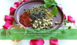 Kiểm nghiệm công bố sản phẩm trà thảo mộc, sản phẩm thiên nhiên