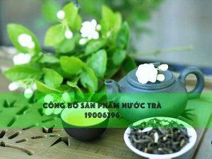 Công bố nước giải khát từ trà, và các loại thảo mộc